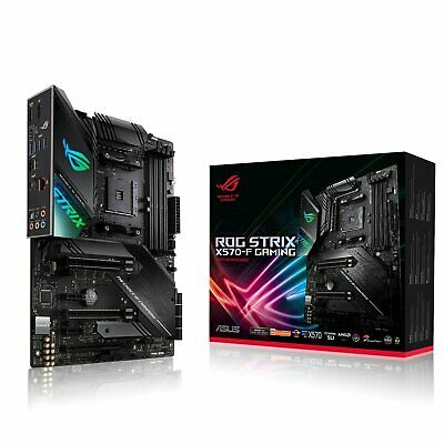ASUS ROG Strix X570-F Gaming ATX Motherboard for AMD AM4 CPUs
