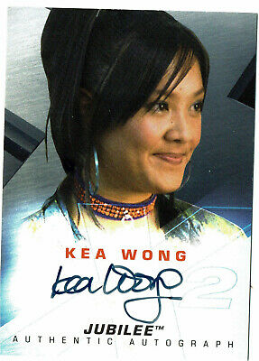 X-Men United 2 Movie Autograph Card Kea Wong as Jubilee (Topps)