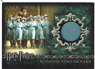 Harry Potter Goblet of Fire GoF Costume Card C7 Beauxbatons Students 739/800