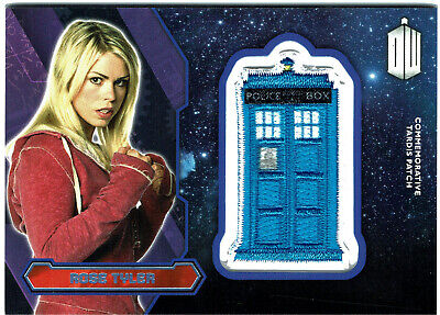 Doctor Who Topps 2015 Tardis Patch Card PURPLE Parallel Rose Tyler #71/99