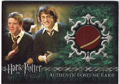 Harry Potter Goblet of Fire Update GoF Costume Card C15 Gryffindor Tie 330/400