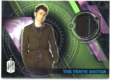 Doctor Who Topps Timeless Costume Relic Card The Tenth Doctor Trousers #61/99
