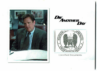 James Bond Archives 2016 Relic Prop Card MR2 Classified Documents #113/150