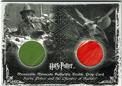 Harry Potter Memorable Moments S2 Prop Card P4 Mandrake & Fawkes Feather 010/260