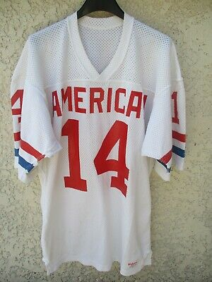 Maillot foot américain US AMERICAN n°14 WILSON vintage shirt jersey made in USA