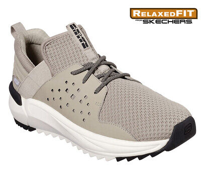 Mens Sketchers Relaxed Fit Casual Walking Slip On Sneakers Driving Boat Shoes Sz