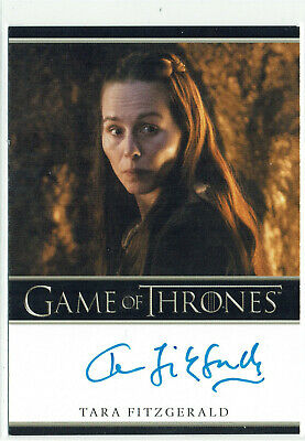 Game of Thrones Inflexions Autograph Card Tara Fitzgerald as Selyse Baratheon