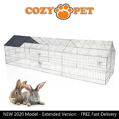 Cozy Pet Rabbit Run Play Pen Guinea Pig Playpen Chicken Puppy Cage Hutch RR11