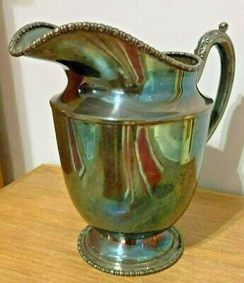 Vintage MSC EPNS F-706 Silverplate Quadruple Water Pitcher