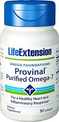 Life Extension Provinal Purified Omega-7 30 softgels
