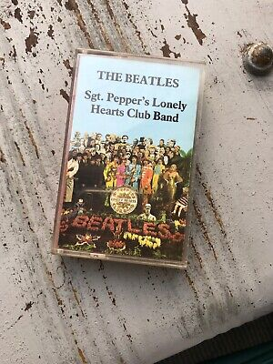 The Beatles Sgt Peppers Lonely Hearts Club Band Cassette Tape Tc-pcs 7027 EMI Pp
