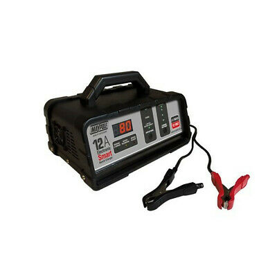 MAYPOLE Battery Charger - 12A - 12V - Electronic Bench Smart MP74212