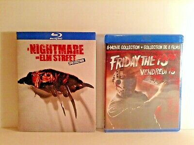 A Nightmare on Elm Street + Friday the 13th: the complete collection (Blu-ray)