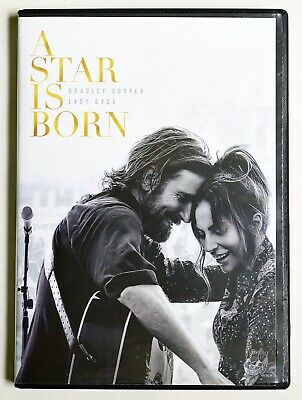 A Star is Born (2018) DVD 2018 Widescreen Bradley Cooper Lady Gaga Very Good