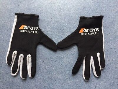 GRAYS skinfull hockey gloves XXXS or junior age 8-10-12 years used once