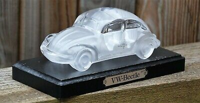 Rare Vintage VW Beetle Glass Ornament Collectable Christmas Gift Camper Retro...