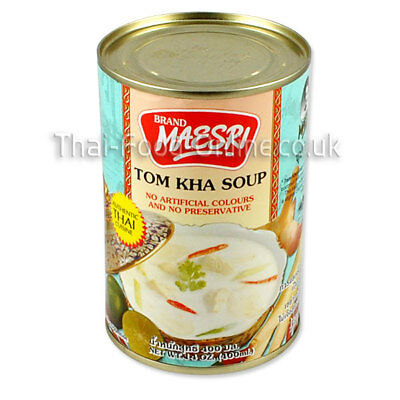 Authentic Thai Tom Kha / ka / kah Curry Soup by Mae Sri ***** UK Seller *****