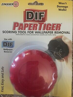 ZINSSER DIF Paper Tiger Scoring Tool for Wallpaper Removal New Factory Sealed