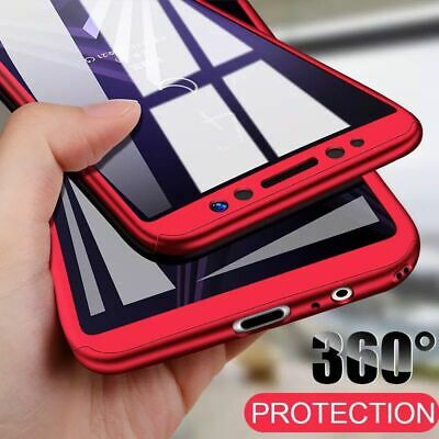 Hülle Samsung Galaxy S10 / S10Plus Full Cover 360° Grad Schutz Handy Case 2Folie