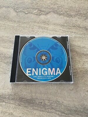 Enigma ~ LSD Love Sensuality Devotion The Greatest Hits ~ CD Disc No front