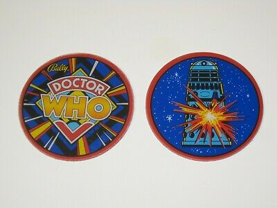 Doctor Who Pinball  Promo Plastic Speaker Cutouts - DR