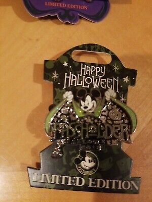 Disney Parks Pin 2018 Happy Halloween Mickey Mouse Annual Passholder LE 4000
