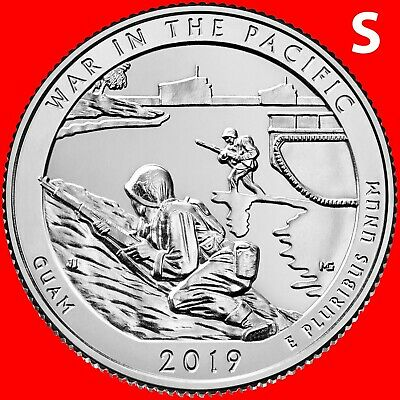 2019-S War In The Pacific (Guam) National Park Uncirculated Quarter