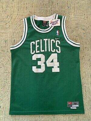 reputable site 14c64 3369b VINTAGE NIKE BOSTON Celtics Jersey Men's XXL (+2 Length ...