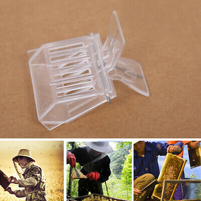 Plastic Beekeeping Queen Clips Bee Catcher Cage Beekeeper Equip Bee Catcher Tool