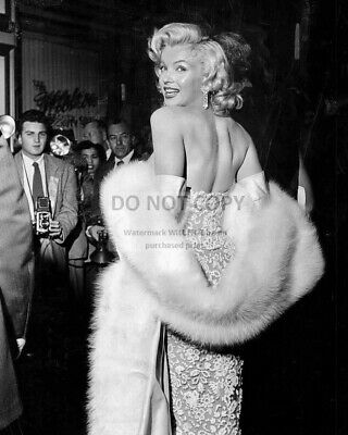 Marilyn Monroe Iconic Sex Symbol & Actress - 8X10 Publicity Photo (Sp181)