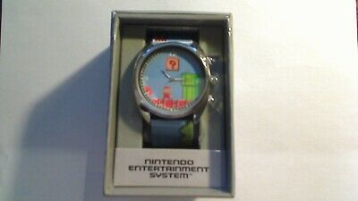 Nintendo Nes Super Mario Bros Accutime Collectors Watch Brand New In Box
