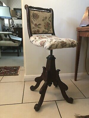 Victorian Cello Stool by J. Fitter.   Beautiful Condition!
