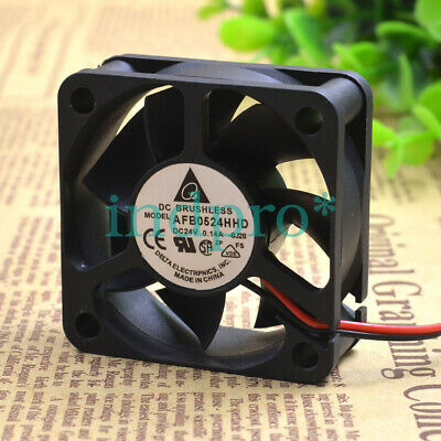 For Delta AFB0524HHD 24v 0.14a 50*50*20mm 2pin inverter cooling fan