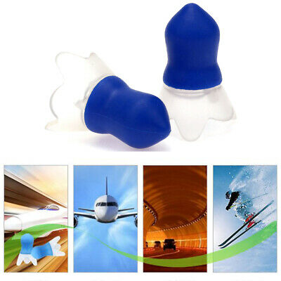 Soft Silicone Noise Cancelling Ear Plugs Hearing Protection Working Sleeping Aid
