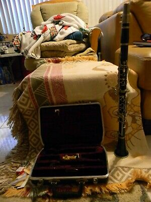 Old Selmer Signet Special Wood Clarinet w/ Case & Acessories 1960's? X Series?