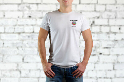 Scottish Fire and Rescue Personalised T Shirt
