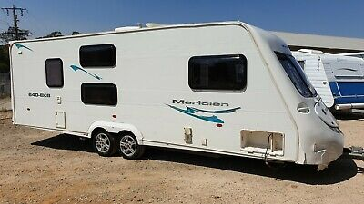 2008 Fleetwood Caravan 2 Bunks Sleeps 6 Shower Toilet On Site Cabin *SEE VIDEO*
