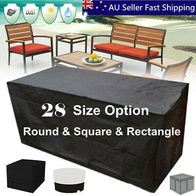 28 Size Waterproof Outdoor Patio Garden Furniture UV Rain Snow Cover Table Chair