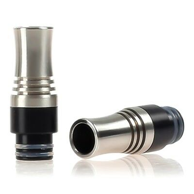 Anti Spit Back 510 Stainless Steel&POM 9 Holes Drip Tip For RDA RTA 510 Tanks !