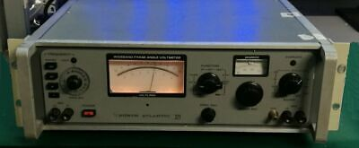 North Atlantic 321 Wideband Phase Angle Voltmeter