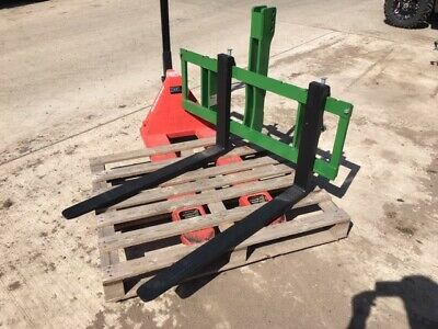 HME Compact Tractor Pallet Forks 3 Point Linkage Mounted CAT I