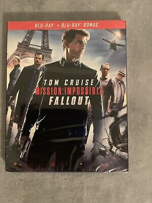 MISSION: IMPOSSIBLE FALLOUT BLU-RAY - Neuf Sous Blister