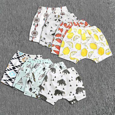 Harem Sleepwears Baby Pants Summer Trousers Kids Print Boys Bottom Girl Short