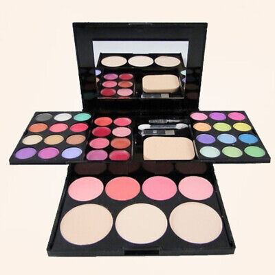 39 Colour Eyeshadow Lip Foundation Blush Palette Makeup Kit Set Girls Gift UK