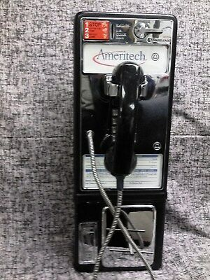 ATT Vintage Western Electric Payphone TouchTone Ameritech For Home Use Only