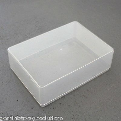 Clear Plastic A6 Craft Paper/Card Storage Boxes