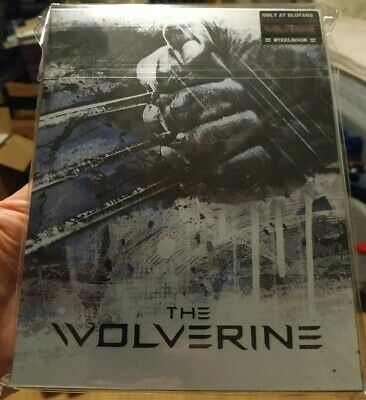 Marvel's X-Men: The Wolverine Blufans Full slip BluRay Steelbook New & Sealed