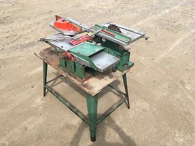Kity Woodworking Combination Set Machine, Saw Planer, Spindle Moulder Drill