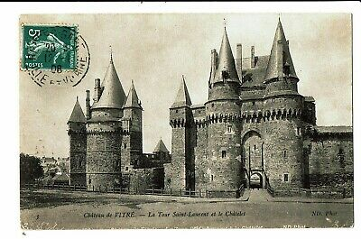 CPA -Carte postale-   France- Vitre - Tour St Laurent du Château -1908- VM4397