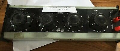 Jay-Jay instruments 4 decade resistance box Untested